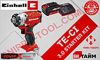 (Power X-Change) Аккумуляторный Ударный гайковерт Einhell TE-CI 18 Li-3.0 kit (4510034)