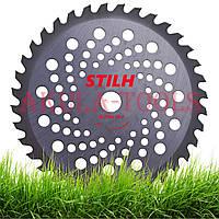 Победитовый диск STIHL 250мм 36 зубьев (облегченный) для мотокосы и бензокосы
