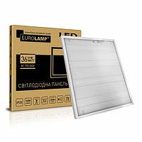 Eurolamp LED Panel 36W 3200Lm RA70 4100К Prismatic светодиодная LED-панель 600х600 ПРИЗМАТИК, фото 1