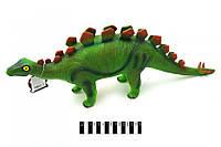 Динозавр большой музыкальный на батарейках 66003, размер 62*11*22 см.