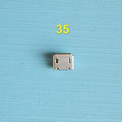 Разьем коннектора зарядки micro usb