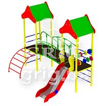 """Спортивно-ігровий вуличний комплекс """"Еко-3"""", фото 2"""