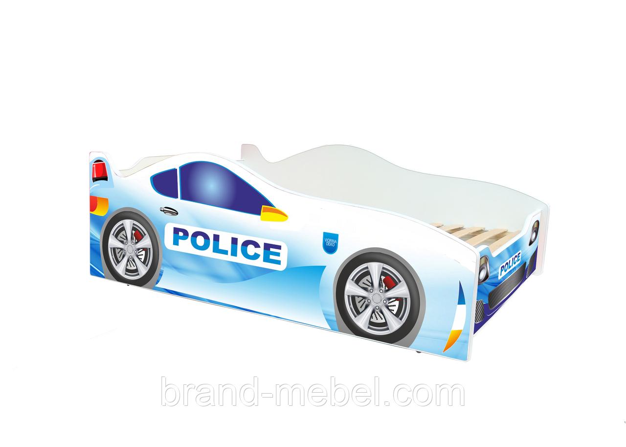 """Детская кровать машина Полиция серии """"Evolution"""""""