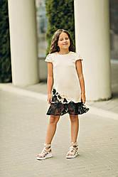 Летнее платье для девочки Анжелика