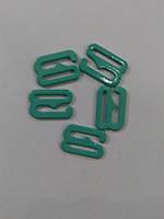 Крючок металл 621 NA/10 10мм цв 6027 бирюзовый (уп 100шт) арт 0704481000