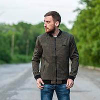 Мужская демисезонная куртка. Цвет- зеленый