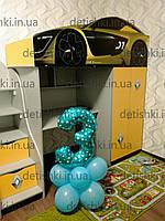 """Кровать чердак  """" Renautl """" серия бренд"""