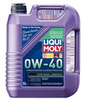 LIQUI MOLY SAE 0W-40 SYNTHOIL ENERGY  4л масляный фильтр в подарок
