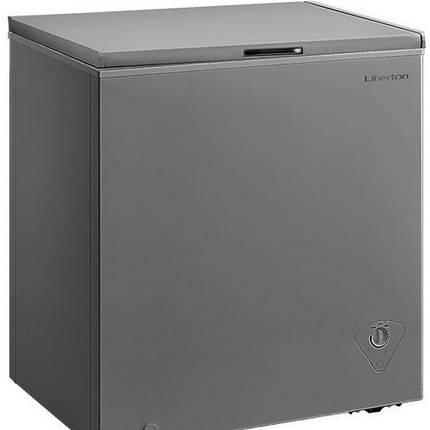 Морозильний лар LIBERTON LCF-150SMD сірий. Компресор: GMCC-TOSHIBA, Midea завод, фото 2