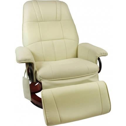 Массажное кресло Regoline 404002, подогрев,бежевое, фото 2