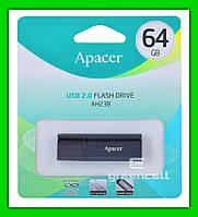 Флешка Apacer AH23В 64 Gb USB 2.0