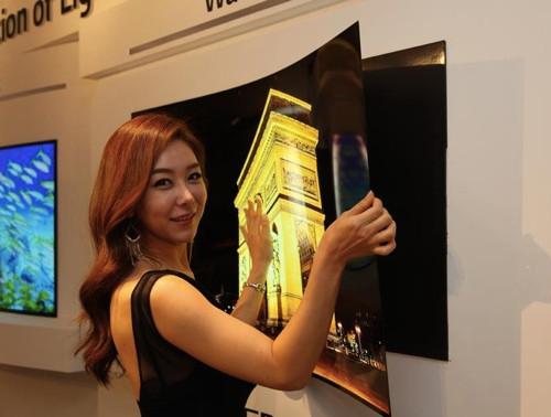 Бьем рекорды толщины: дисплей LG меньше миллиметра