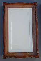 Киот для мерной иконы с залевкашеной доской., фото 1