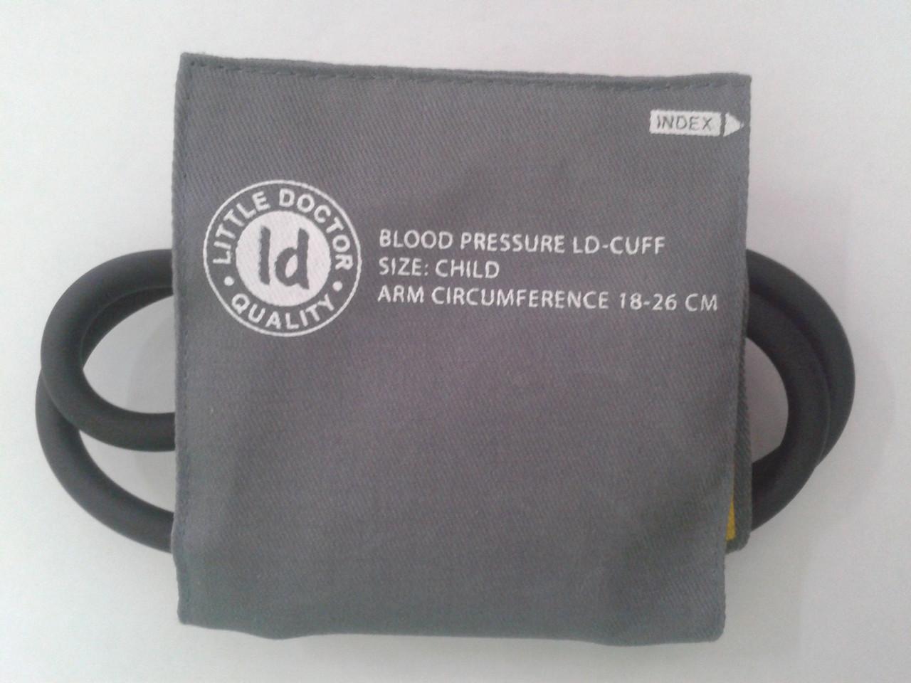 Манжета на механический тонометр LD (детская) 18-26 см.