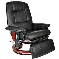 Массажное кресло Regoline 404002, подогрев,черное