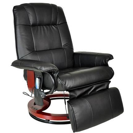 Массажное кресло Regoline 404002, подогрев,черное, фото 2