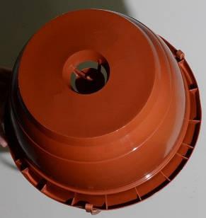 Горшок подвесной 3,7л (23х14см) с подвесом, терракотовый, фото 2