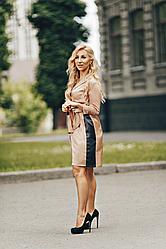 Стильное платье-рубашка Джанис