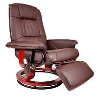 Массажное кресло Regoline 404002, подогрев,коричневое