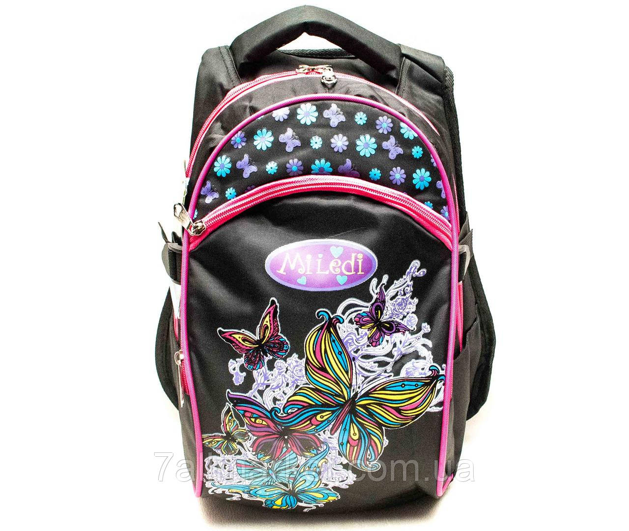 """Рюкзак школьный для девочки MILEDI (40*25 см) (3 цв) """"SOFOCHKA"""" купить недорого от прямого поставщика"""