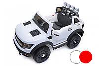 Дитячий електромобіль джип 7819 на радіокеруванні, 2 мотора, електромобіль, фото 1