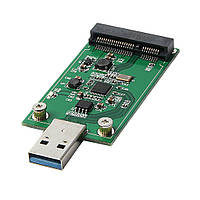 USB 3.0 в mSATA SSD переходник флешка контроллер Mini PCIE адаптер