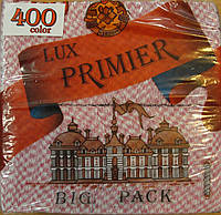 Салфетка бумажная премьер 400л орнамент