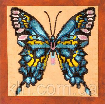 Набір для вишивання бісером FLF-017 Метелик-2 20*20 Чарівна країна якісний