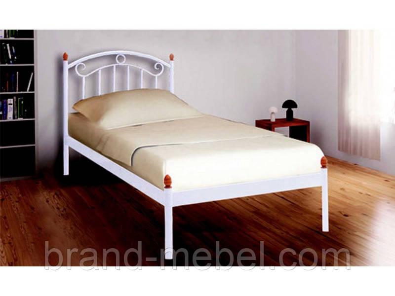 Ліжко металеве односпальне Монро міні /Кровать металлическая односпальная  Монро мини