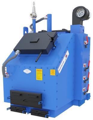 Промышленный котел КВ-ЖСН 500 кВт.  Котлы твердотопливные большой мощности Топтермо