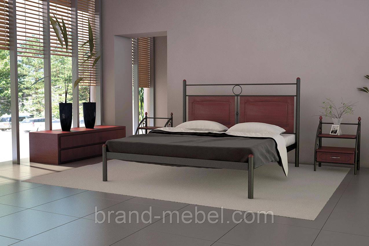 Ліжко металеве Ніколь /Кровать металлическая  Николь
