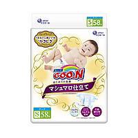 Подгузники GOO.N SUPER PREMIUM MARSHMALLOW для детей (S, 4-8 кг)