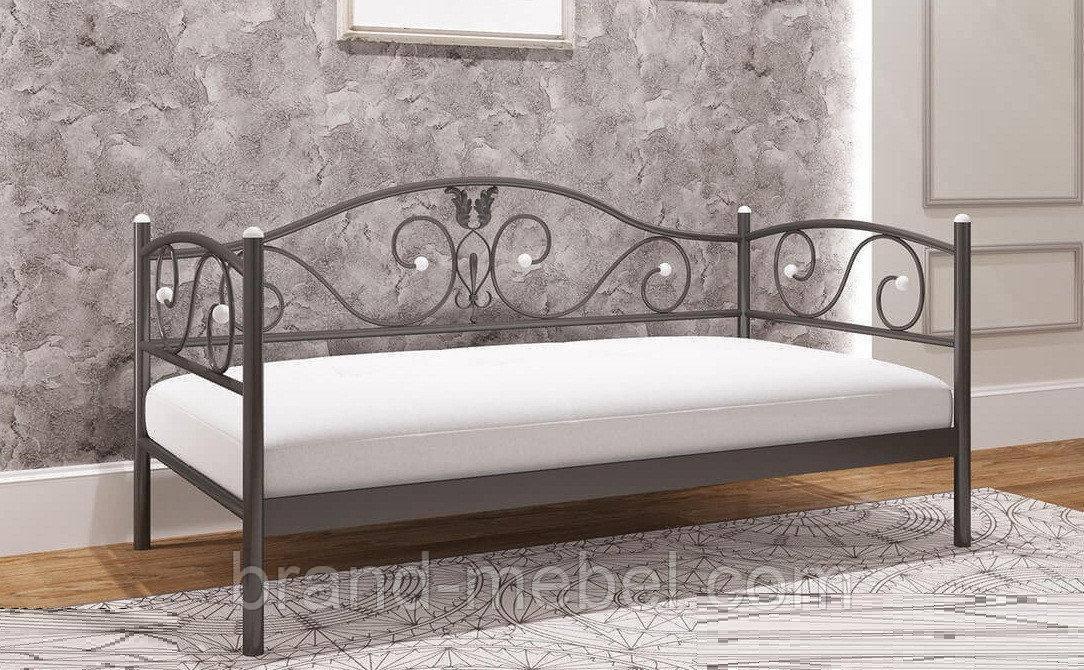 Ліжко-диван металеве Анжеліка /Кровать-диван металлическая Анжелика