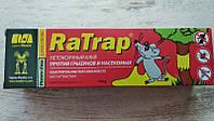 Клей RaTrap от грызунов и насекомых с приманкой 135г, фото 1