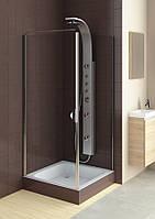 Душевые двери Aquaform Glass 5 103-06371 со стенкой 103-06383
