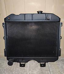 Радиатор УАЗ 3 рядный медный (Буханка, Хантер) (пр-во Иран Радиатор)