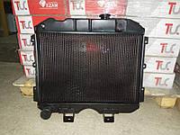 Радиатор вод. охлаждения УАЗ 469, УАЗ 452 2 ряд мед пр-во Иран Радиатор