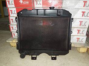 Радиатор вод. охлаждения УАЗ 469, УАЗ 452 2 ряд мед (пр-во Иран Радиатор)