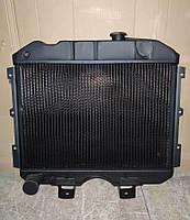 Радиатор вод. охлаждения УАЗ 469, УАЗ 452 3 рядный медный (пр-во Иран Радиатор)