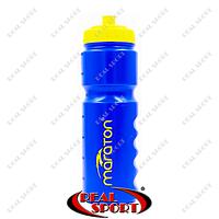 Бутылка для воды спортивная Maraton 750 мл WB8003 (пластик, синий)