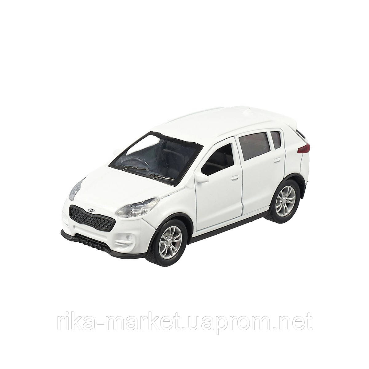 Автомодель - KIA SPORTAGE (1:32, в белый)