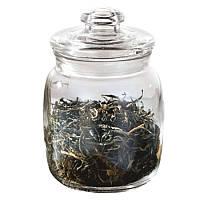 Емкость стеклянная для хранения сыпучих продуктов (банка с крышкой) 1088, 1,5 литра