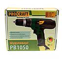Шуруповерт сетевой ProCraft PB1050, фото 4