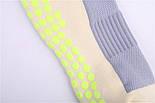 Тренувальні шкарпетки (сірий-салатовий), фото 3