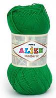 Alize Bamboo Fine зеленый № 562