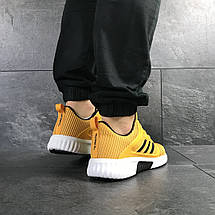 Кроссовки мужские Adidas ClimaCool,желтые, фото 2