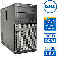Dell OptiPlex 7010 - Intel Core i7-3770/ 8GB DDR3/ 500GB HDD Системный блок, Компьютер, ПК