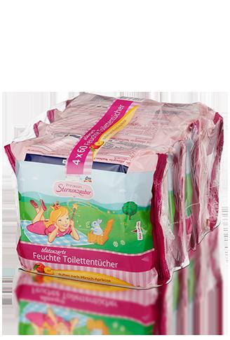 Влажные салфетки Prinzessin Sternenzauber Feuchte Toilettentücher 240шт