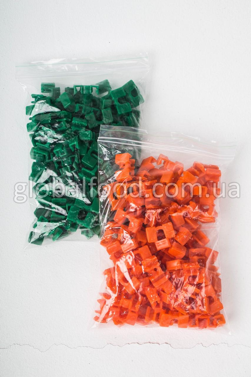 Держатели для Палочек Разноцветные Пластиковые (Зажимы)  (200 шт/уп.)
