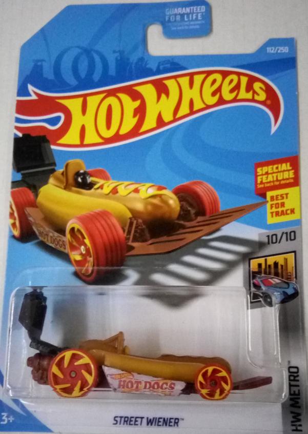 Машинка Hot Wheels 2019 Street Wiener
